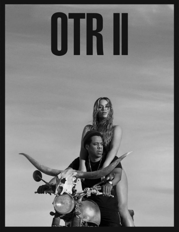 jay z beyonce on the run 2 tour poster 1