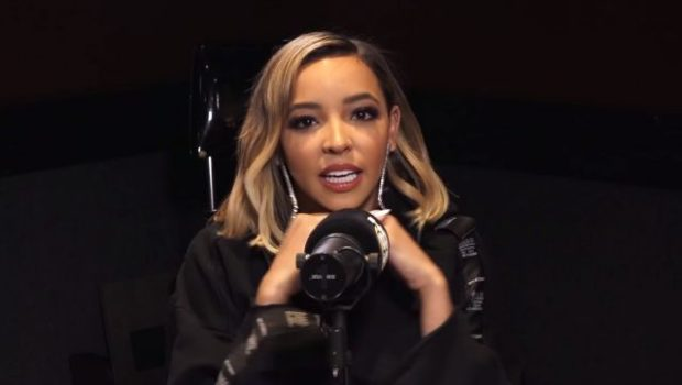 tinashe talks joyride dating ben simmons and more on ebro in the morning