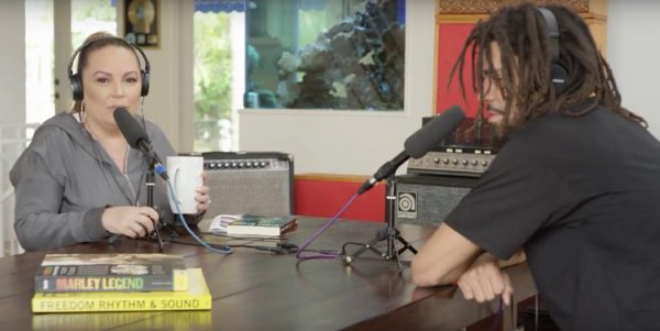 J. Cole Angie Martinez Interview