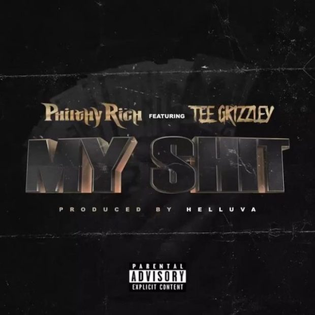 philthy rich tee grizzley my shit