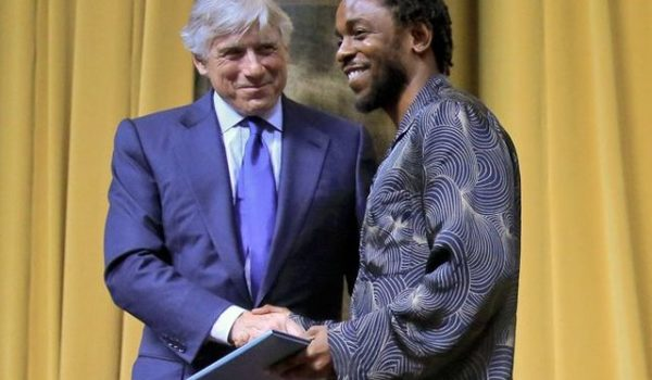 "Video: Kendrick Lamar Accepts Pulitzer Prize For ""DAMN."" Album"