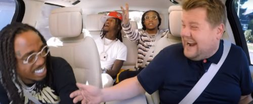 Video: Migos Sing Carpool Karaoke With James Corden
