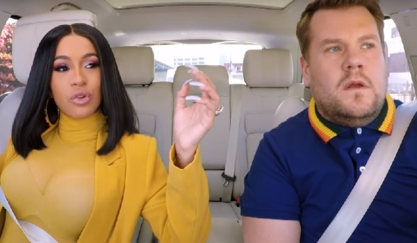 Video: James Corden – Carpool Karaoke W/ Cardi B