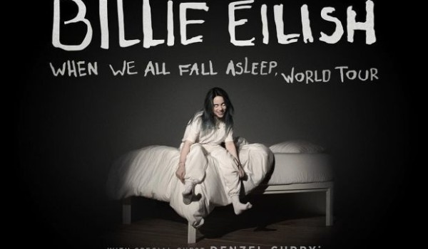 Billie Eilish Announces 'When We All Fall Asleep' World Tour